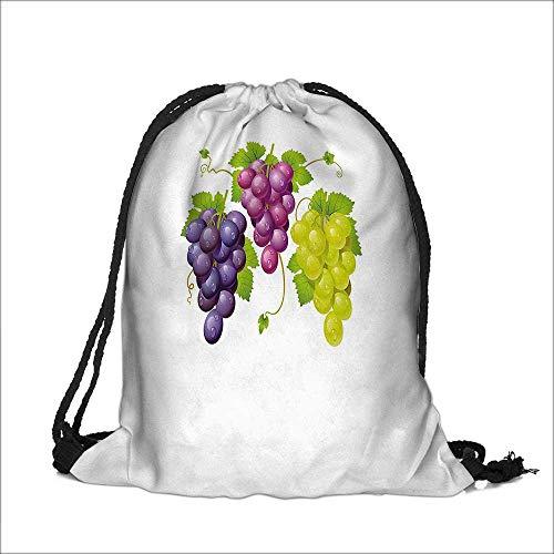 Cordón de algodón de lino en madera cesta de mimbre hiedra Vinicultura Gourmet Organic Photo café Morado Craft bolsa de...