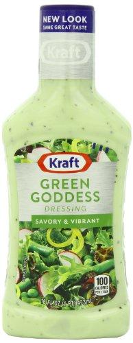 Kraft Seven Seas Green Goddess Dressing, 16-Ounce Plastic Bottles (Pack of 6) ()