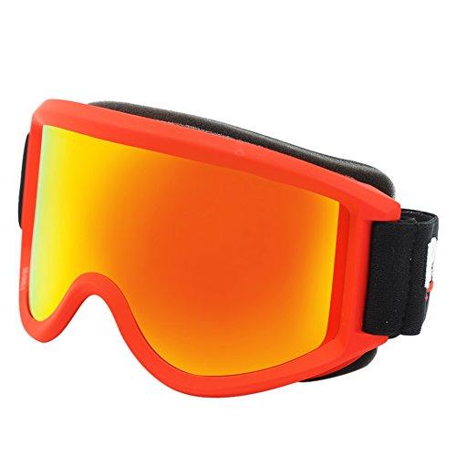 SE7VEN Masques De Ski Lentille Double Couche Lunettes D équitation  Motoneige Coupe-vent Lunettes ... 838a01ea5d9a
