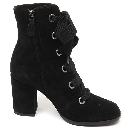 Black Stivaletto Alberto Boot Woman Nero Shoe Donna Scarpe E7684 Suede Gozzi wEqHTHd
