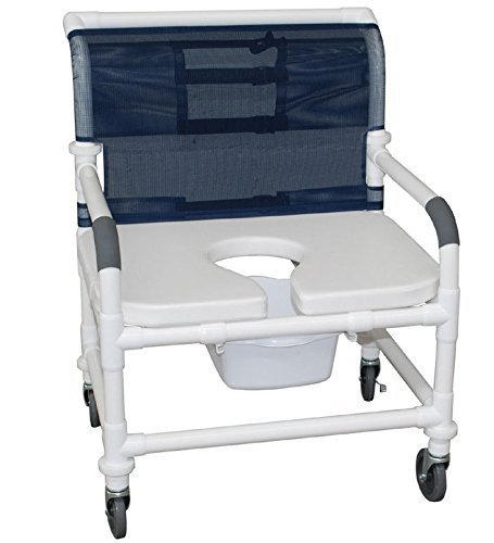 MJM 126-4-NB-AF Extra-wide shower chair 26 in.