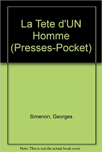 Book La Tete d'UN Homme (Presses-Pocket)