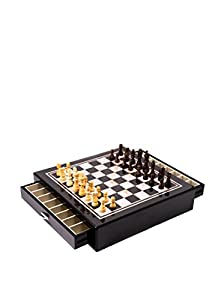 "13.25"" Bey-Berk Chess Table"
