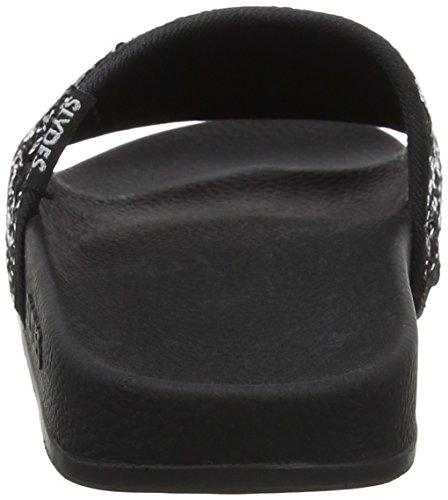 Slydes Women's Sellin F Flip Flops Black (Black) GjpBggpD