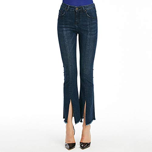 Jeans Micro Jeans Femme Taille Hohe Lama S MVGUIHZPO Tw1Y8qIw