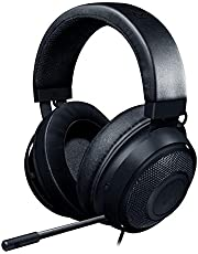 $65 » Razer Kraken Gaming Headset: Lightweight Aluminum Frame, Retractable Noise Isolating Microphone, For PC, PS4, PS5, Switch, Xbox One, Xbox Series X & S, Mobile, 3.5 mm Audio Jack, Black