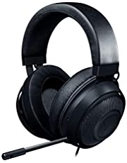 $59 » Razer Kraken Gaming Headset: Lightweight Aluminum Frame - Retractable Noise Isolating Microphone - For PC, PS4, PS5, Switch, Xbox One, Xbox Series X & S, Mobile - 3.5 mm Headphone Jack - Classic Black
