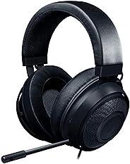 Razer Kraken Gaming Headset: Lightweight Aluminum Frame - Retractable Noise Isolating Microphone - For PC, PS4