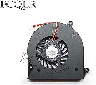 FCQLR Ordenador portátil Ventilador para Toshiba Satellite A505-S6007 A505-S6009 A505-S6012 Compatible Ordenador portátil Ventilador: Amazon.es: Electrónica
