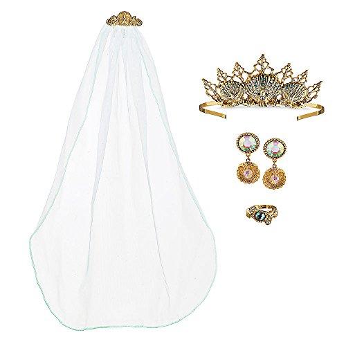 Disney Ariel Deluxe Wedding Costume Accessory Set -