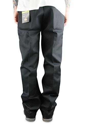 Dickies WP873 Fit Straight Pantalon coupe Slim Chino Pantalon de travail Noir