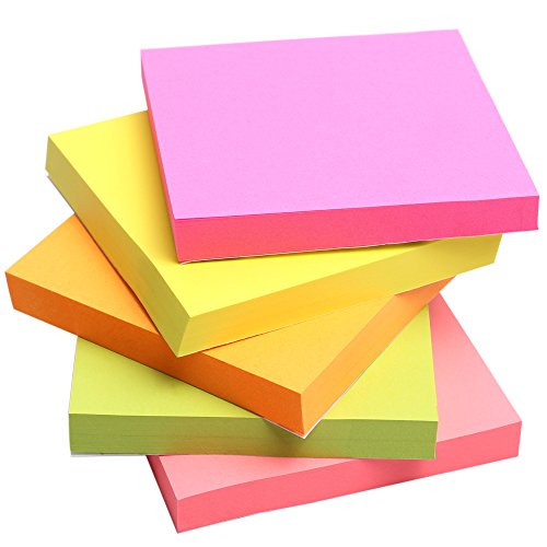 sticky-notes-wotmic-easy-post-12-pads-pack-100-sheets-pad-3-inch-x-3-inch-squares-5-colors-child-fre