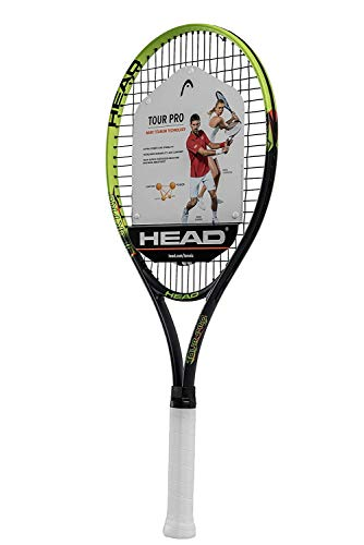 HEAD Tour Pro Pre-Strung Recreational Tennis Racquet (4 1/2
