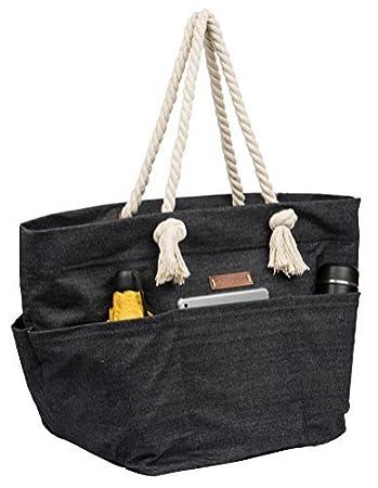 Amazon.com  Malirona Large Canvas Beach Bag Shoulder Bags 0bbe9a69f