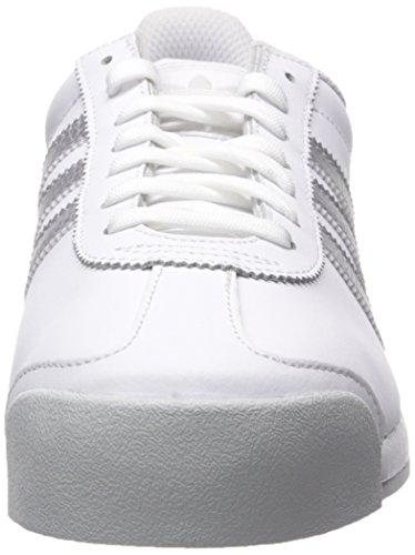 best sneakers 40871 a8cac Amazon.com   adidas Men s Samoa Retro Sneaker, White Metallic Silver Light  Grey, 10.5 M US   Fashion Sneakers