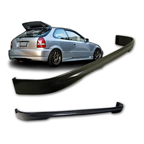 Honda Civic EK 3dr Hatchback TR Style Urethane Rear Bumper Lip For 96 00  Models