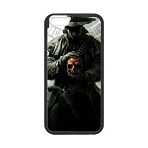 iPhone 6 6S Plus 5.5 Inch funda Negro [PC dura del caso + HD Pattern] Serie Bloodborne® [Numeración: JJJJDHKOD1467]
