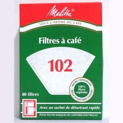Melitta Original 80 Filtres 102 Sachet de Détartrant
