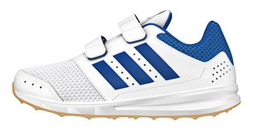 adidas Jungen LK Sport 2 CF K Turnschuhe, Blanco (Ftwbla / Azul / Gum3), 32 EU