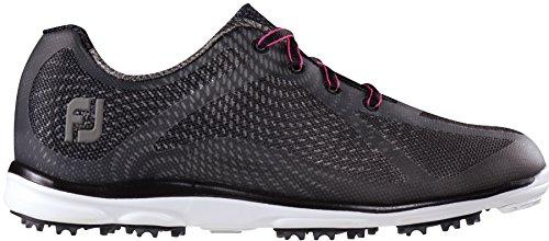 FootJoy New Womens Golf Shoe Empower Medium 6.5 Black ()