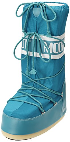 Turchese Nylon de Mixte Enfant 14004400 Turquoise Moon Bottes Boot Neige 5IIqz