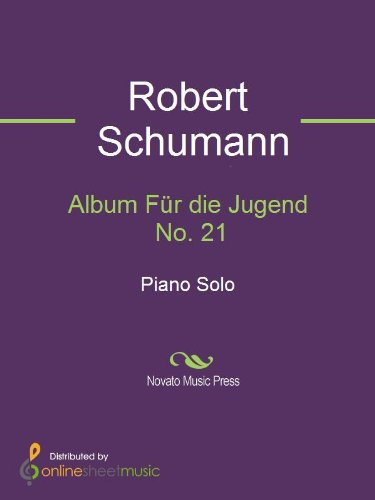 Fur Album - Album Für die Jugend No. 21 - Piano
