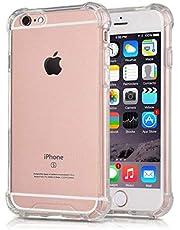 جراب لهاتف iPhone SE (2020)، جراب كينج كونغ لهاتف Apple iPhone SE (2020) بتقنية امتصاص الصدمات والكريستال الشفاف والماص للصدمات من البولي يوريثان الحراري الناعم لهاتف iPhone SE (2020) 4.7 بوصات - شفاف
