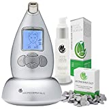 Microderm GLO Premium Skincare Bundle Includes Diamond Microdermabrasion System, 10mm Filters 100 pack