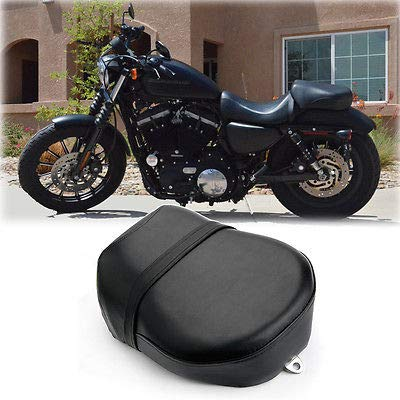 FidgetFidget Seat Pillion Cushion Rear Passenger for Harley Sportster Iron 883 883C/N XL1200