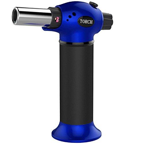 amriu gf 879 micro butane torch lighter refillable kitchen blow torch with safety lock - Kitchen Blowtorch