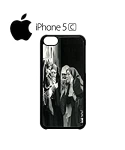 Bad Nuns Smoking Sister Religion Mobile Cell Phone Case Cover iPhone 5c White