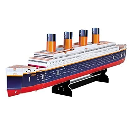 5f50c2f7 Dimart Educational 3D Model Movie Titanic Ship DIY Toy 30 Pcs