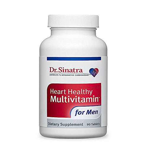 Dr. Sinatra's Heart Healthy Multivitamin for Men, 90 Tablets (30-day Supply)