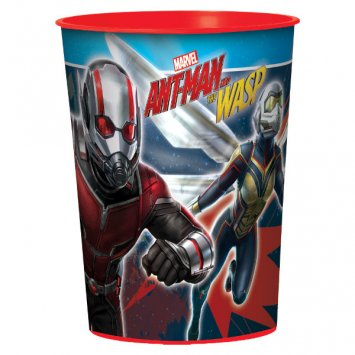 Marvel Ant-Man & The Wasp 16 oz Plastic Favor Cup Birthday Party Supplies Ant Man