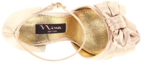 Nina Bridal Electra Gold Special Occasion Neob ELECTRA01 7 UK, 9 US, Sandales femmes - Or, 40