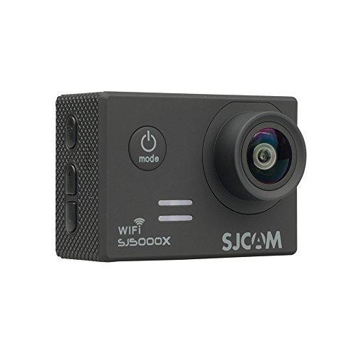 SJCAM Sj5000X Elite Action Cam Sport Camera 2k Hd Wifi  Underwater Camcorder ,2.0 Inch Screen, 170 Degrees Wide Angle,12mp Cmos, Degree HD Wide-angle Lens 30meters Waterproof Camera Black