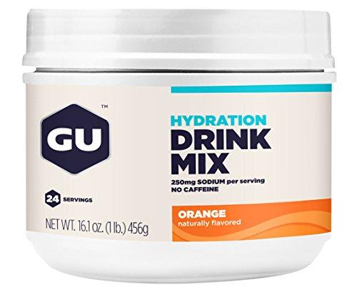 GU Hydration Drink Orange Canister