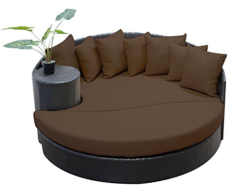 wicker outdoor daybed - 9