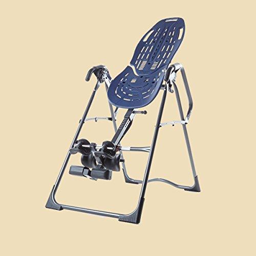 Teeter Hang Ups Ep-860 Inversion Table with Flexible Comfortrak Bed, Lumbar Bridge and Acupressure Nodes