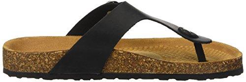 BATA Men's 8666239 Flip Flops Black (Nero 6) oHmxSfSCOM