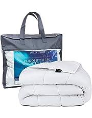 Polar Night Verzwaringsdeken voor volwassenen - Zware deken met glasparels, katoen, Oeko-TEX® 100 standaard - Ademend, hypoallergeen, incl. omslaglussen - 150 x 200 cm, 5-13kg