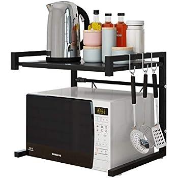 Amazon.com: ninetonine Alumimum Horno de microondas estante ...
