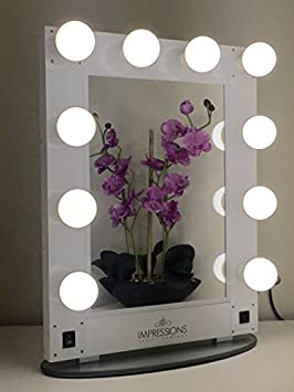 Impressions Vanity Kw Glam Hollywood Glam Vanity Mirror With Led