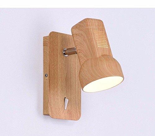 Anbiratlesn Modern E27 Vintage Rustikal Wandlampe für Schlafzimmer Wohnzimmer Korridor Badezimmer Küche lösen drehen Treppenlicht