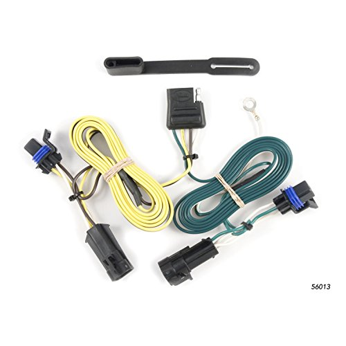CURT 56013 Vehicle-Side Custom 4-Pin Trailer Wiring Harness for Select Chevrolet Malibu, Maxx, Pontiac G6