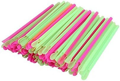 Multi-Colored 4 Styles To Pick From!! Reusable SPOON STRAWS!