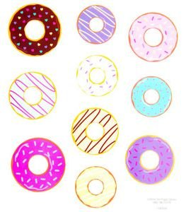 Donut Stickers CraftEase