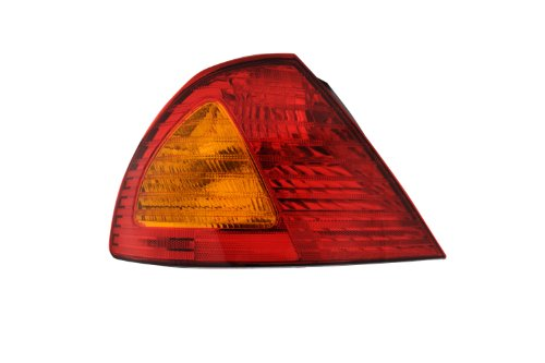 Used Tail Light Assembly - TYC 11-6086-00 Toyota Avalon Driver Side Replacement Tail Light Assembly