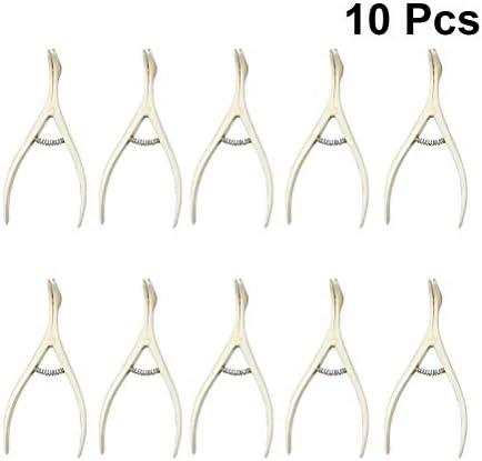 SUPVOX Esp/éculo Nasal Desechable Herramientas de Cirug/ía Nasal 10PCS