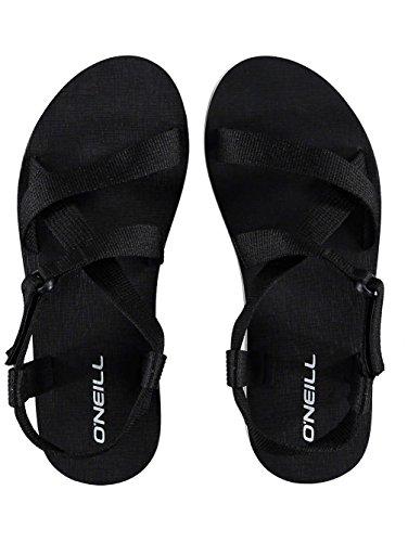 ONeill Damen Sandalen Velcro Wedge Sandalen Frauen Black Out